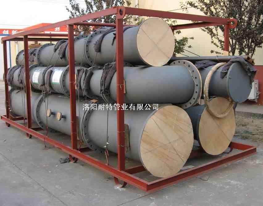 衬四氟钢管—次氯酸钠废水输送专