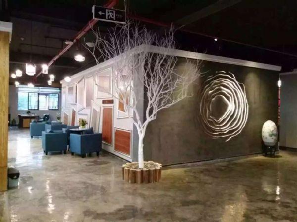 厂家供应复古地坪漆咖啡馆饭店酒吧艺术地坪漆