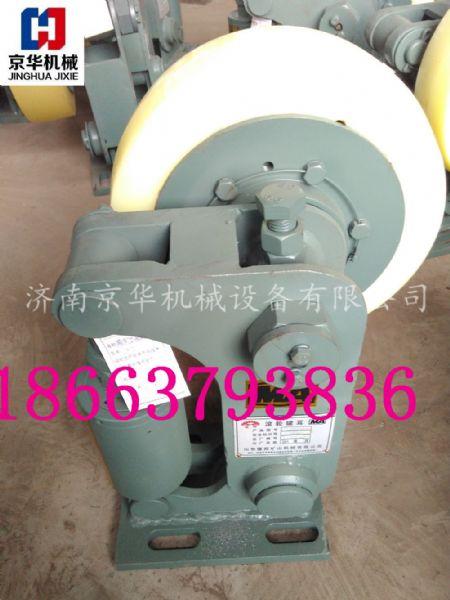 L30单轮滚轮罐耳矿用缓冲式滚轮罐耳