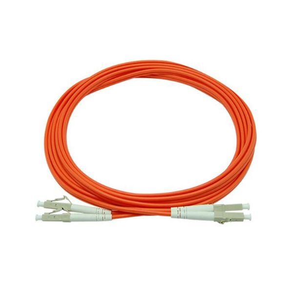 光纤跳线LC-LC多模双芯光纤跳线3米尾纤延长线光缆跳线电信级