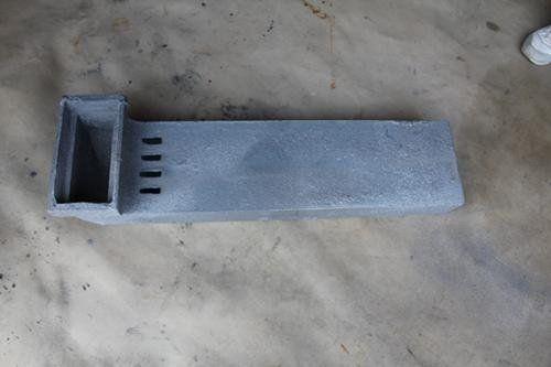 矩形铸铁泄水管