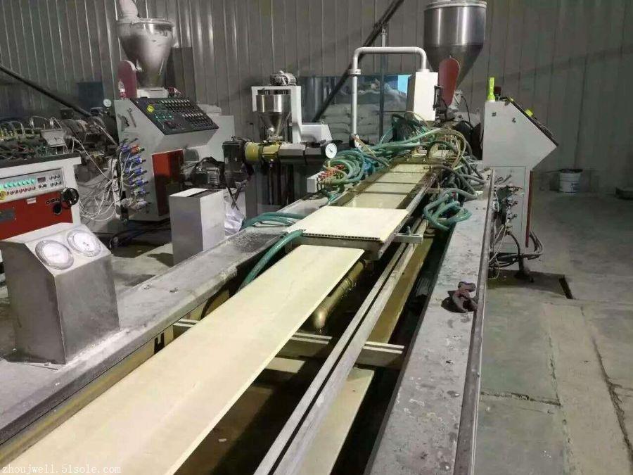 竹木纤维集成墙板设备竹木集成快装墙板生产线