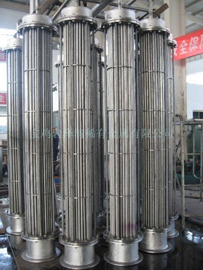 钛设备换热器钛盘管