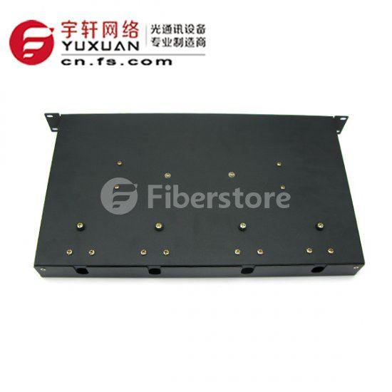 24芯SC机架式光纤终端盒光缆尾纤熔接配线箱架FS-JJ/SC24-24C