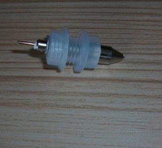 18650圆柱型电池测试夹具端子分容老化检测设备卡簧四线接头