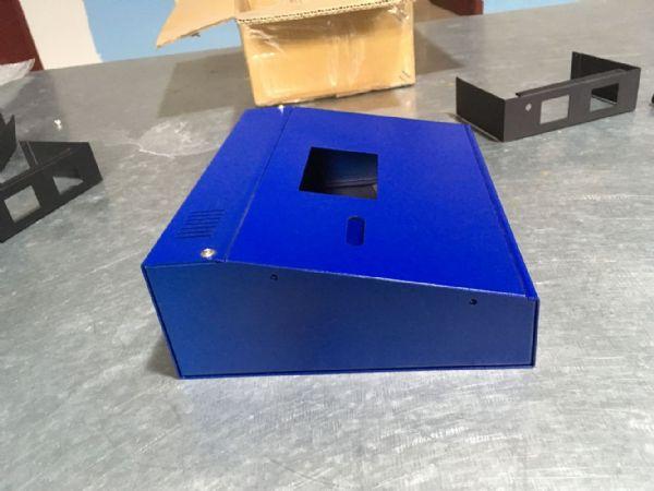 电力控制器外壳壳体铝钣金定制加工铝外壳电力设备外壳铝外壳机箱