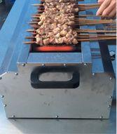 金刚不锈钢管子气烤炉商用大号液化气烤串炉子烤面筋烤大串